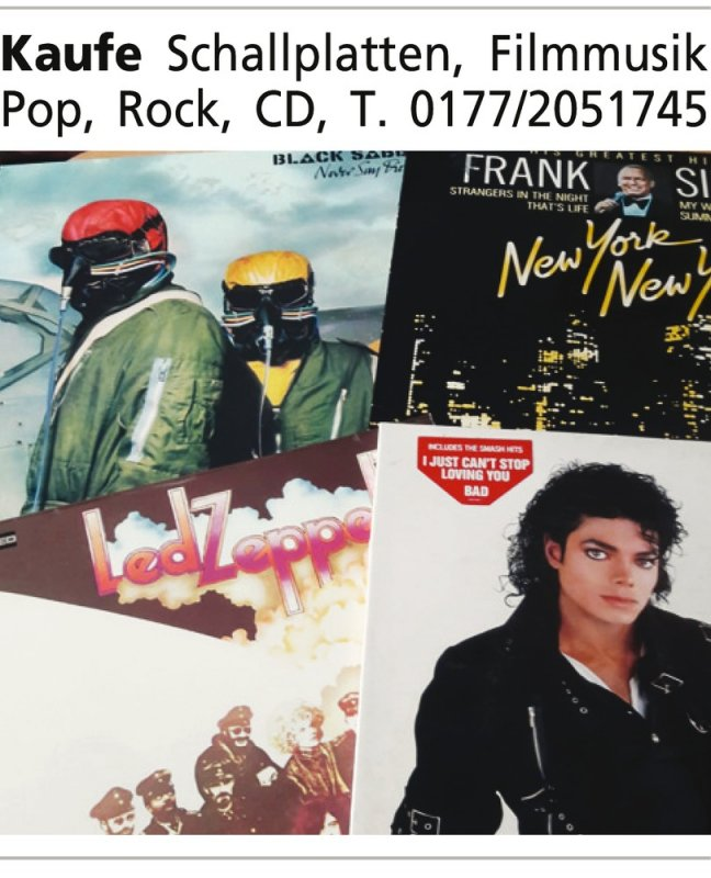 Kaufe Schallplatten, Filmmusik Pop, Rock, CD, T. 0177/2051745