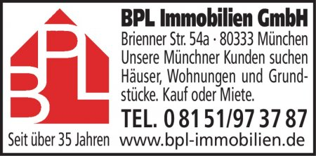 BPL Immobilien GmbH Brienner
