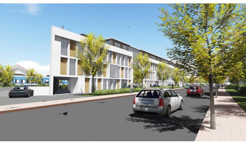 200 betten f r gilching an der landsberger stra e soll hotel entstehen. Black Bedroom Furniture Sets. Home Design Ideas