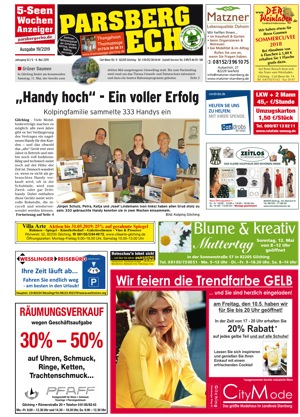 Parsberg Echo<br /> Gilching